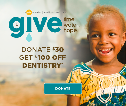 Donate $30, Get $100 Off Dentistry - Dentists of Buford