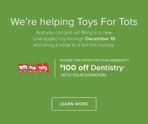 Cumming Smiles Dentistry - Toys for Tots